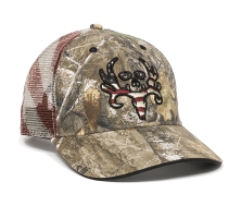 BC02A-Realtree EdgeTM/American Flag-One Size Fits Most