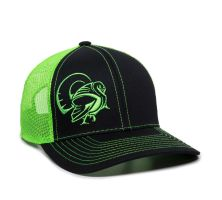 LONGBEARD-Black/Neon Green-One Size Fits Most