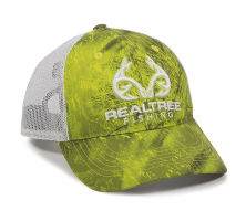 RT06A-Realtree-Fishing-Dark Lime/White-One Size Fits Most