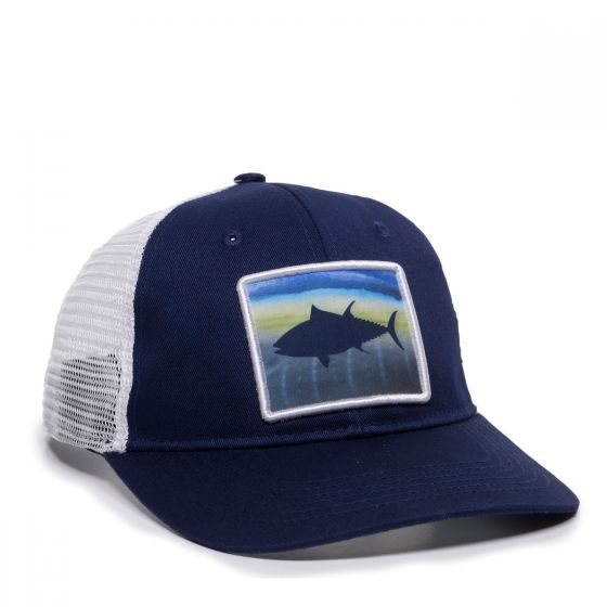 BLUEFIN-Navy/White-One Size Fits Most