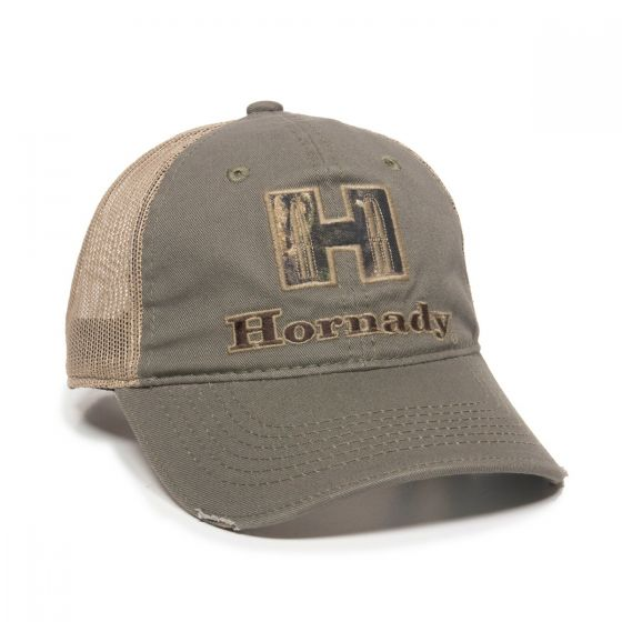 HRN01A-Olive/Tan/Mossy Oak® Break-Up Country®-One Size Fits Most