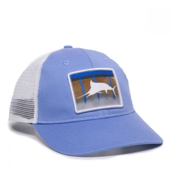 MARLIN-Blue/White-One Size Fits Most