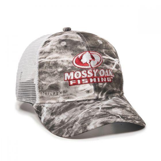 MOFS44A-Mossy Oak® Elements Agua Manta/White-One Size Fits Most