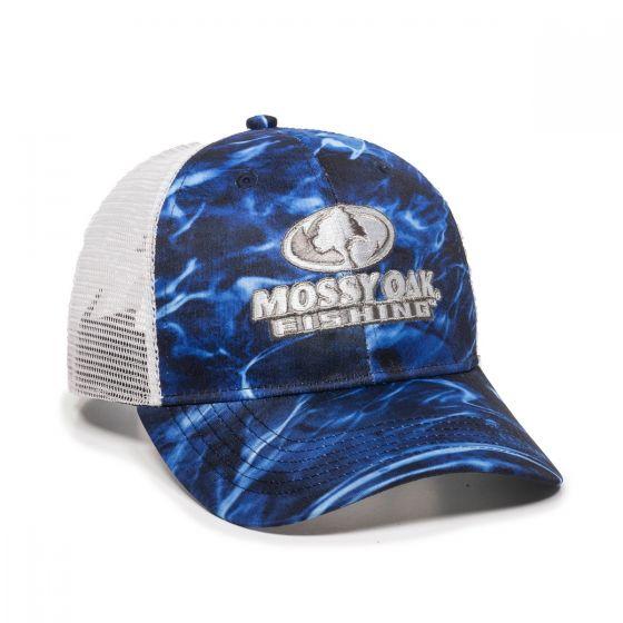 MOFS44A-Mossy Oak® Elements Agua Marlin/White-One Size Fits Most