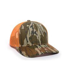 OC771CAMO-Mossy Oak® Original Bottomland®/Neon Orange-One Size fits Most