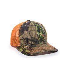 OC771CAMO-Mossy Oak® Break-Up Country®/Neon Orange-One Size fits Most