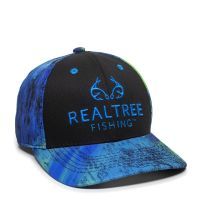 RTF02A-Black/Realtree Fishing™ Splash-One Size Fits Most
