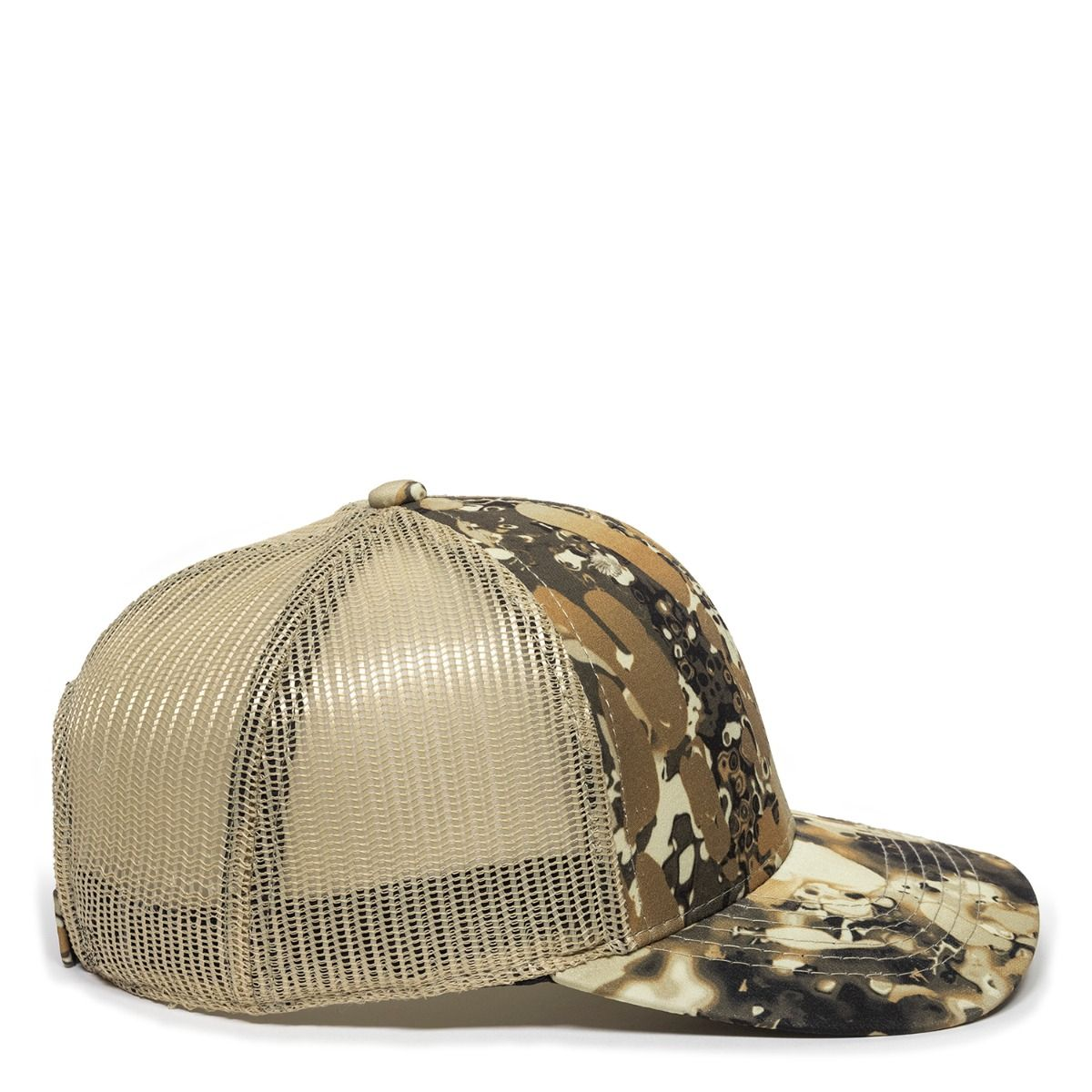 Outdoor Cap VEIL-001-V501 Veil Camo Avayde Natural Meshback Hat
