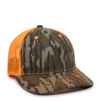 CNM-100M-Mossy Oak® Original Bottomland®/Neon Orange-One Size Fits Most