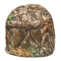 ESL-001-Realtree Edge®/Blaze Fleece-Adult