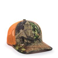 OC771CAMO-Mossy Oak® Break-Up Country®/Neon Orange-One Size fits Most