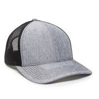 OC771-LN-Heathered-Grey-Black-One Size Fits Most