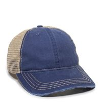 OC801-Navy/Tea Stain-One Size Fits Most