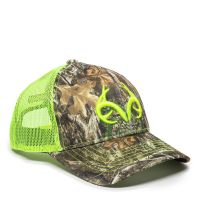 RT02A-Realtree EdgeTM/Neon Yellow-One Size Fits Most