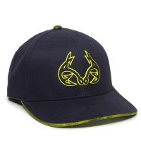 RTF01C-Navy/Realtree™ Fishing Dark Lime-One Size Fits Most