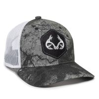 RTF04A-Realtree Fishing™ WAV3 Mirage Grey/White-One Size Fits Most