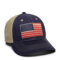 USA-165-Navy/Khaki-One Size Fits Most