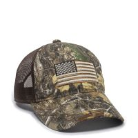 USA-200M-Realtree EdgeTM/Brown-One Size Fits Most