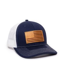 USA771-Navy/White-One Size Fits Most