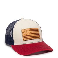 USA771-Stone/Navy/Cardinal-One Size Fits Most