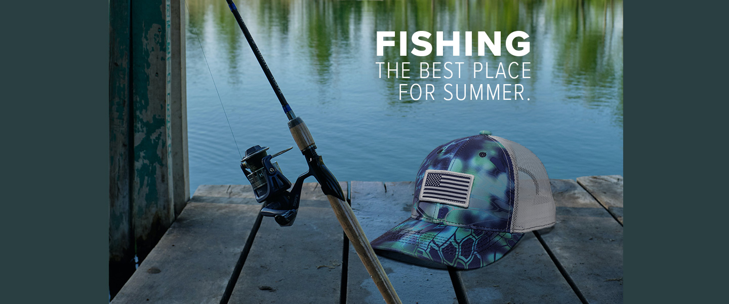 Fishing, the best place for summer